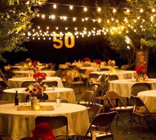 Servicio de arreglos florales para 50 años en lima