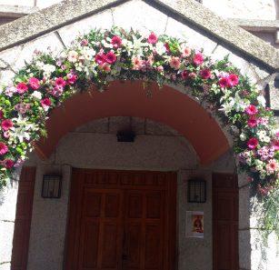 matrimonio arreglo floral marleny 8